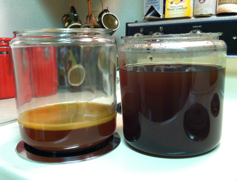 SCOBY and sweet tea